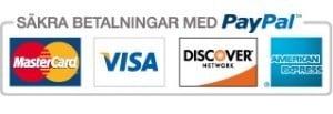 Säkra betalningar med PayPal
